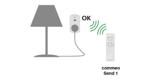 Selve commeo Adapter Plug